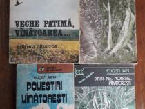 Lot 4 carti de vanatoare - Jianu, Cristoveanu,... / R2P5F