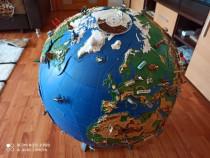 Glob pământesc 3 d