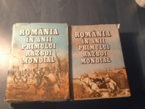 Romania in anii primului razboi mondial 2 volume