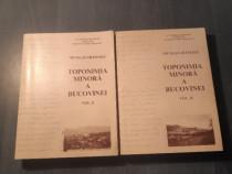 Toponimia minora a Bucovinei Nicolai Gramada 2 volume