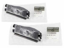Set 2 Buc Lampa Numar Inmatriculare Oe Dacia Sandero 1 08-12