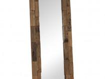 Oglindă, 50 x 110 cm, lemn masiv reciclat 246306