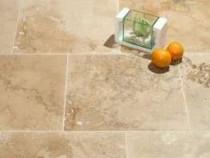 Travertin rustic mat chituit 61x30.5x1.2cm piatra naturala