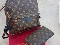Set Louis Vuitton (rucsac si portofel),saculet inclus