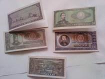 5 felicitări bancnote La mulți bani !