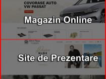 Creare Magazin Online sau Site Web de Prezentare