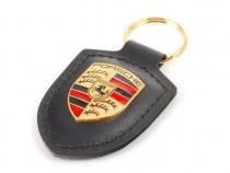 Breloc Cheie Oe Porsche Piele Negru WAP0500900E