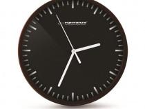 Ceas de perete Quartz,cadran cu linii,alb/negru,precis