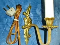 5515-Aplica electrica stil Rococo Franta din bronz.