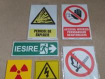 Set semne-indicatoare de avertisment