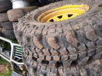 Roti simex jante intoarse offroad anvelope teren simex 35
