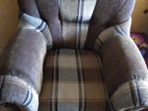 Canapea extensibilă cu două fotolii