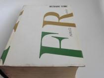 Dictionar tehnic francez  roman