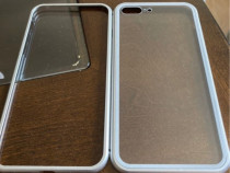 Husa aluminiu magnetica iPhone 7 plus/8 plus
