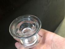 Suporti lumanare din sticla