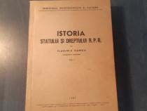 Istoria statului si dreptului R.P.R. vol.1 Vladimir Hanga