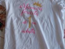 Set două tricouri aniversar 1 an mama tata