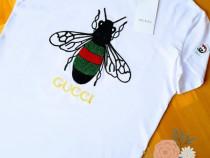 Tricouri Gucci unisex,logo brodat,marimi diverse/Italia