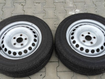 Jante VW T5, anvelope vara Continental 205/65R16C