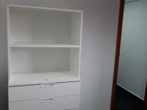 Dulap alb rafturi + sertare 80 X 160 cm, Ikea Office