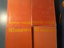 Mihai Eminescu Opere publicistica 4 volume Perpessicius