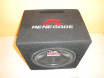 Subwoofer auto Renegade 250W 500W amplificator Magnat Gladia