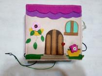 Carte senzoriala pentru activitati copii handmade