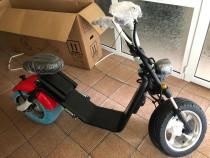 Moped Electric LUQI H3 Rosu - Omologat RAR, Autonomie 70 min