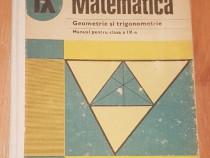 Geometrie si trigonometrie, manual pentru clasa IX de Cota