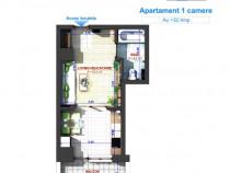 Apartament 2 camere: 47.59 MP - Preț : 46.900 Euro, Bucium