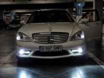 Mercedes S350/GPL-prins) /NightVision/Alb Perlat