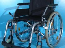 Scaun cu rotile carucior dizabilitati B+B latime sezut 46 cm