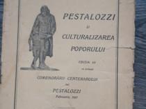 Carte veche g g antonescu pestalozzi 1927