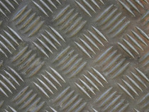 Tablă striată aluminiu 99,5 Quintet 1.5/3 x 1000 x 2000 mm