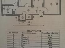 Apartament 3 camere Crangasi Nicolae Oncescu