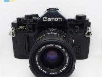 Canon A-1 cu obiectiv Canon Zoom Lens FD 35-70mm f/3.5-4.5