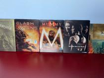 LOT 5 filme DVD STEELBOOK , cu sau fara romana, NOI !