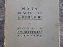 Carte veche noua constitutie a romaniei 1922
