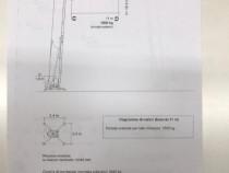 Macara automontantă Neofim, zincată, hidraulica