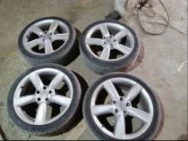 Jante aliaj Audi Vw R18 5x112 Et 51 anvelope de vara Pirelli