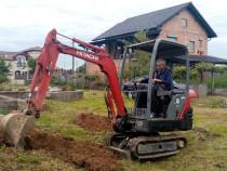 Miniexcavator Hitachi sau schimb cu unul mai mare