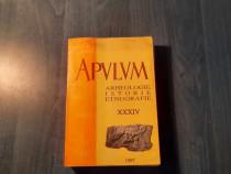 Apulum volumul 34 arheologie istorie etnografie
