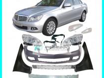 Bara aripa far armatura semnal grile Mercedes C-CLASS W204