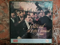 Festival of light classical music-12 discuri LP,made in ENGL