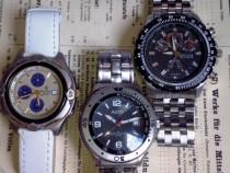 3 ceasuri second hand, aratoase, functionale, la pret de unu