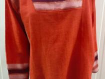 Bluza coral de in, noua. Talia M-L