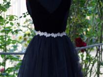 Rochie neagră, mărime 36(S)