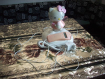 Telefon fix pentru dormitor copil Hello kitty mod-205 kitty