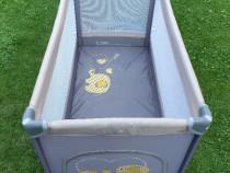 Tarc bebe/Patut pliabil Bebe Design 60x120cm