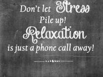 Masaj de relaxare profesionist